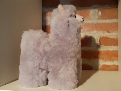 Alpaca stuffed animal grey